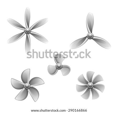 Propeller set