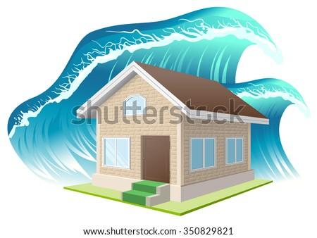 property insurance flood wave