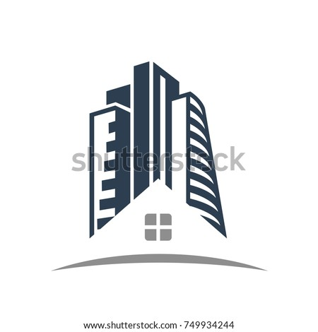 Property Investment Business Finance Logo Template