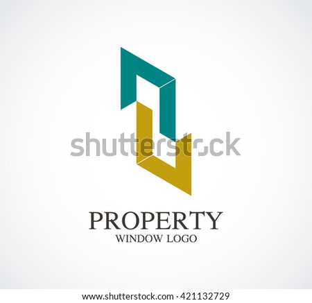 property window of door line