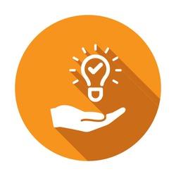 Propose brilliant idea - Suggest, offer, present new idea,solution, plan Vector, agency, alternative, award, best, better, brainstorm, bulb, check, checkmark, choice