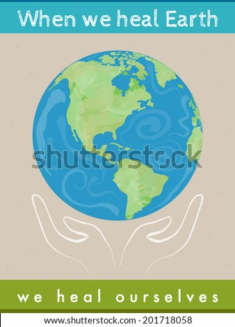 protect earth quote with the