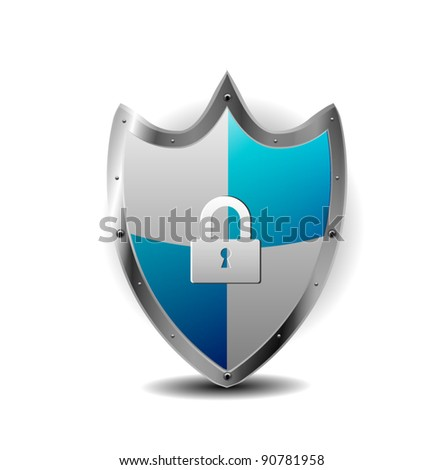 Protection Blue Shield with locker
