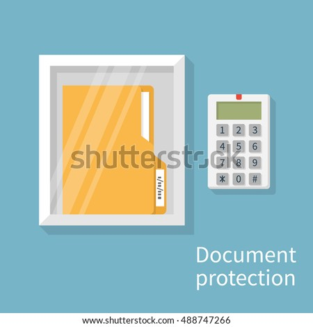 protection document  concept