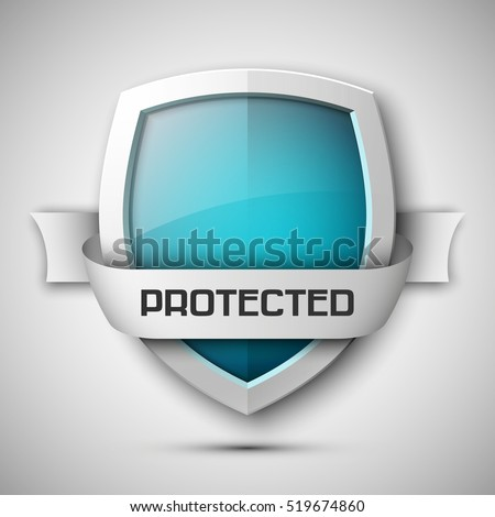 protection shield concept with
