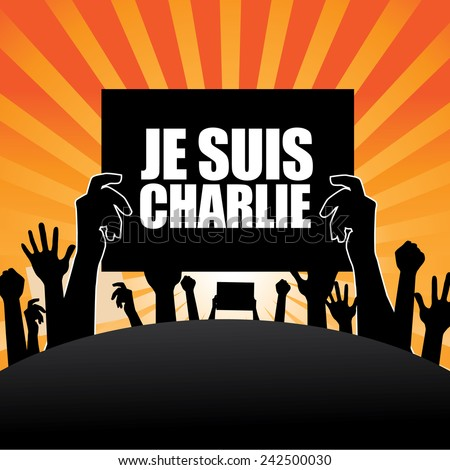 protesters je suis charlie