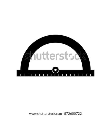 protractor ruler icon