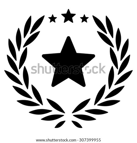 Proud icon. Vector style is flat symbols, black color, rounded angles, white background.