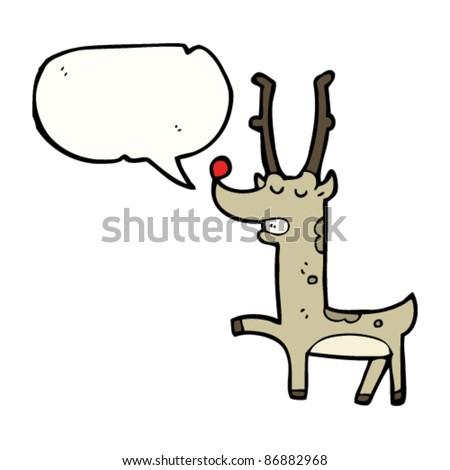 proud red nosed reindeer