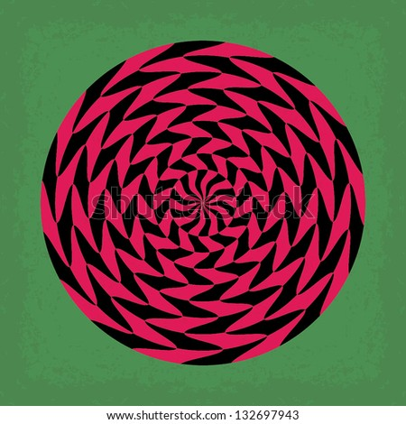 Psychedelic background. Universal: Background, Pattern, Texture. Vector illustration EPS10