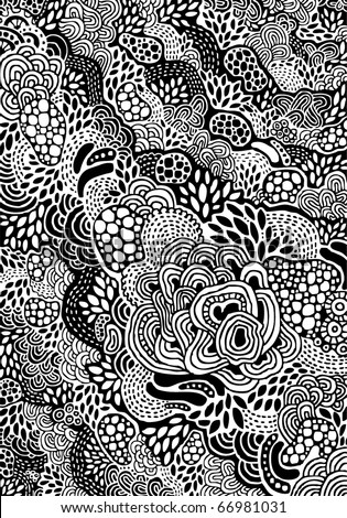 psychedelic hand-drawn background