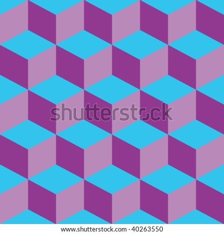 psychedelic pattern mixed purple and blue, vector art illustration