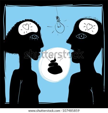 psychology of love doodles