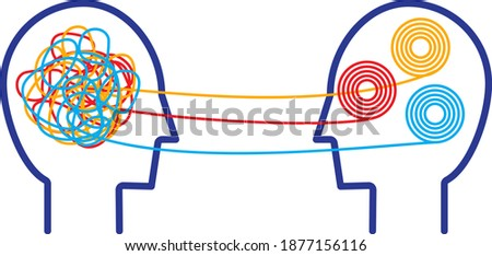 Psychotherapy Work icon, vector illustration Foto stock ©