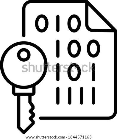Public and Private key encryption Concept, Secure Hash Algorithm Vector Icon Design, Cloud computing and Web Hosting services Symbol on White background, RSA Sign Foto stock ©