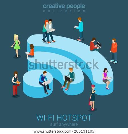public free wi fi hotspot zone...