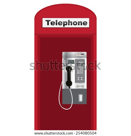 public telephone white