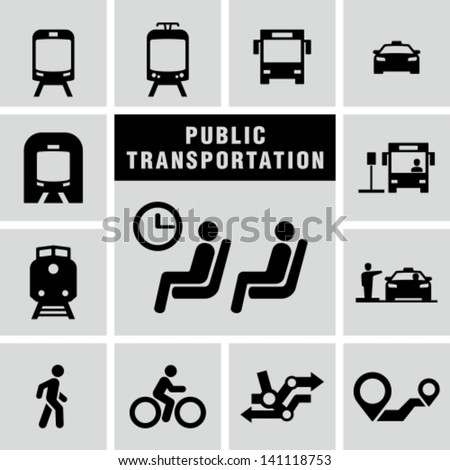 Public transportation set