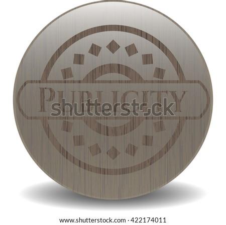 Publicity wood emblem
