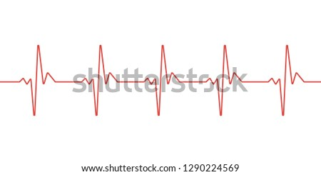 pulse line vector template