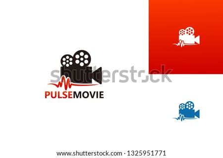 pulse movie logo template