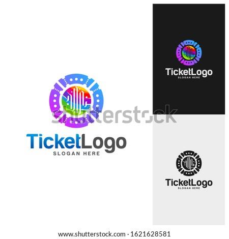 pulse ticket logo template