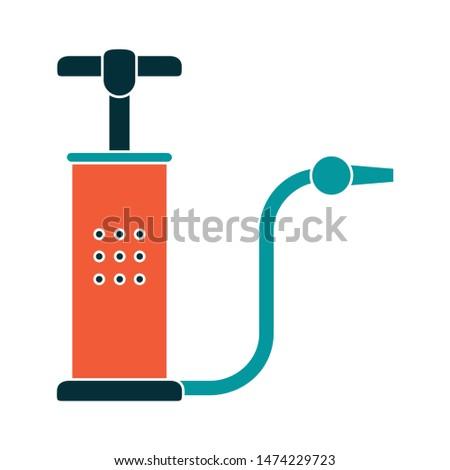 pump icon. flat illustration of pump vector icon. pump sign symbol