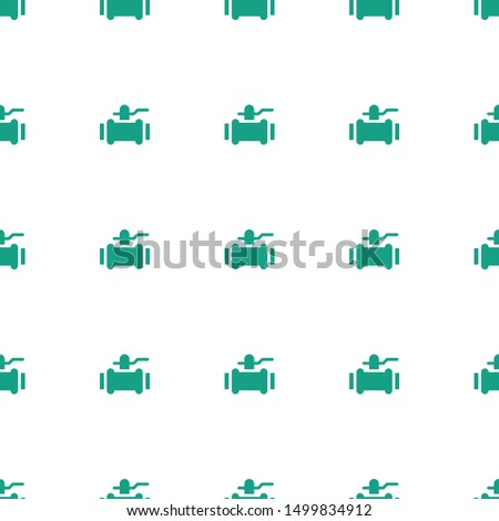 pump icon pattern seamless white background. Editable filled pump icon. pump icon pattern for web and mobile.