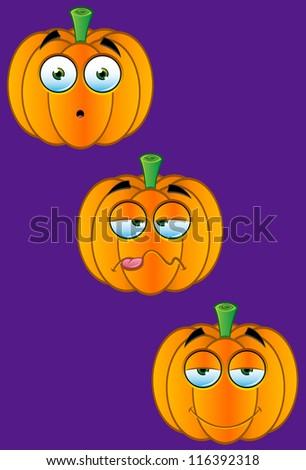 Pumpkin Faces - Set 5