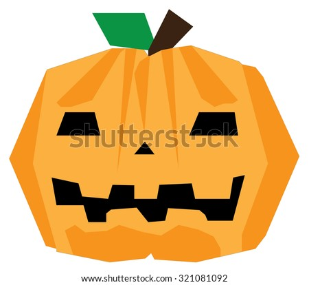Pumpkin for Halloween party Vector Image