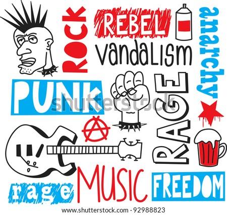 punk doodle