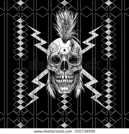 punk t shirt graphic