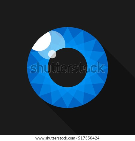 pupil eye image for the logo