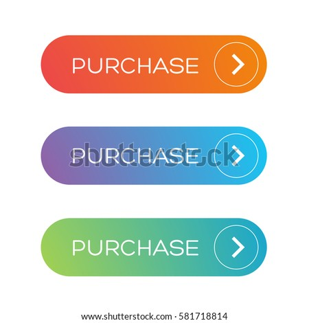 Purchase web button set #581718814