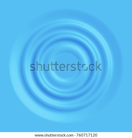 Pure blue water waves background, rippled surface vector illustration. Symbol of ecological safety, natural, clean beverage, essential element of life, environment pollution, aqua deficiency problem.