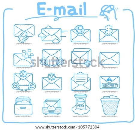 Pure Series | E-mail ,Business,Internet icon set