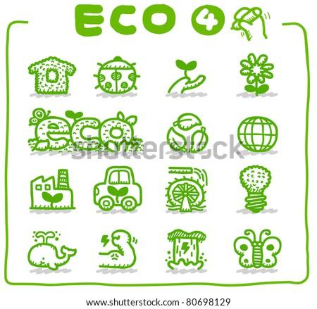 Pure series   Hand drawn Eco Icon