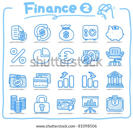 Pure series | Hand drawn Finance icon