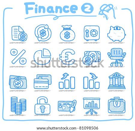 Pure series | Hand drawn Finance icon