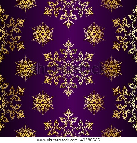 wallpaper purple and gold. stock vector : Purple-and-Gold