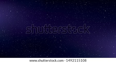 Purple astrology horizontal, Star universe background, Milky way galaxy, Vector Illustration.