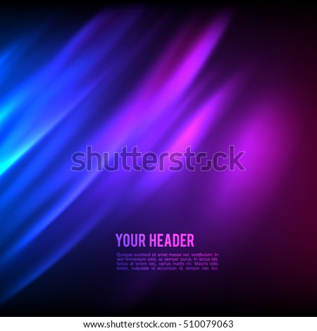 stock-vector-purple-background-advertising-brochure-design-elements-blurry-light-glowing-graphic-form-for