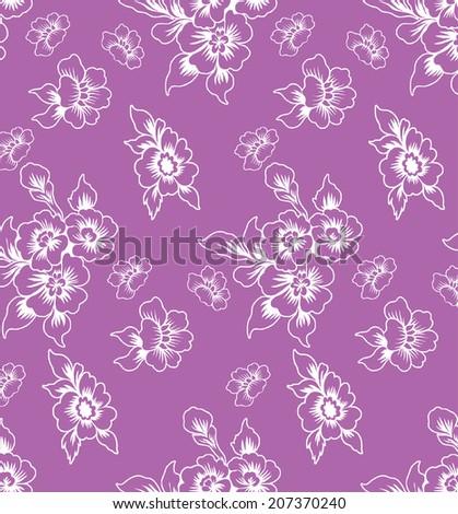 Purple background. bouquet of purple flowers.