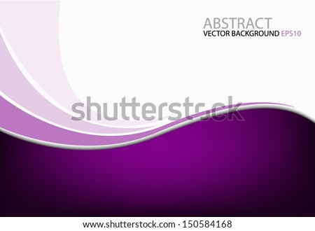 purple background vector dimension 3d graphic message board for text and message design frame line shadow for modern web design - Shutterstock ID 150584168