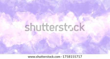 Purple background watercolor. Purple splash watercolor. Water color backdrop. Purple background watercolor. Abstract Purple splash watercolor on white background.