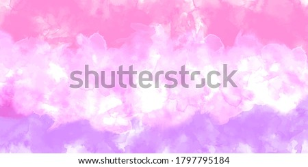 Purple background watercolor. Purple splash watercolor. Water color backdrop. Purple pink background watercolor. Abstract Purple splash watercolor on white background.