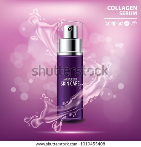 purple collagen vitamin skin