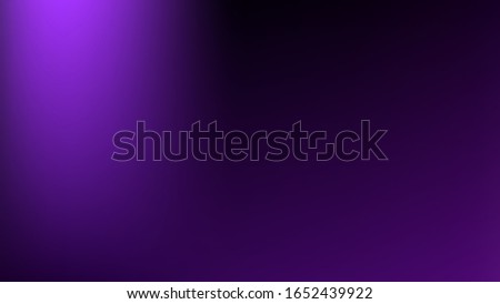 Purple colored abstract gradient mesh Background. New banner template. Common texture. Pristine trendy fantasy.  Easy to edit clean color vector illustration. Magic style smoot.