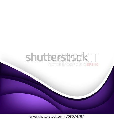 purple curve background with