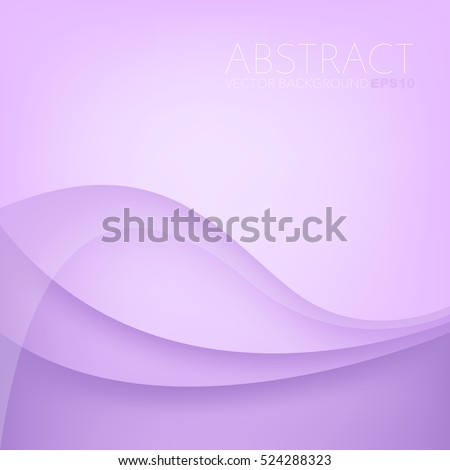 Purple curve line background pink vector overlap paper layer with space for text and message design - Shutterstock ID 524288323